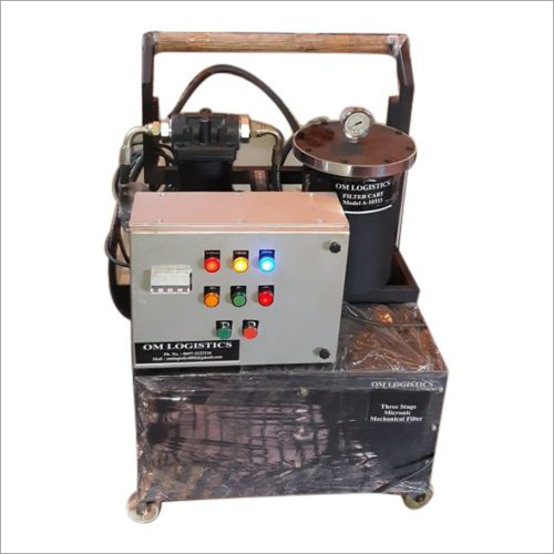 Industrial Oil Cleaning Machine