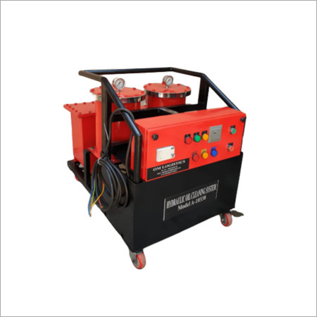 Industrial Hydraulic Oil Cleaning System