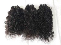 100% Raw natural curly human hair,100% human virgin hair,curly, natural color