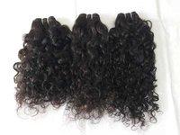100% Raw natural curly human hair