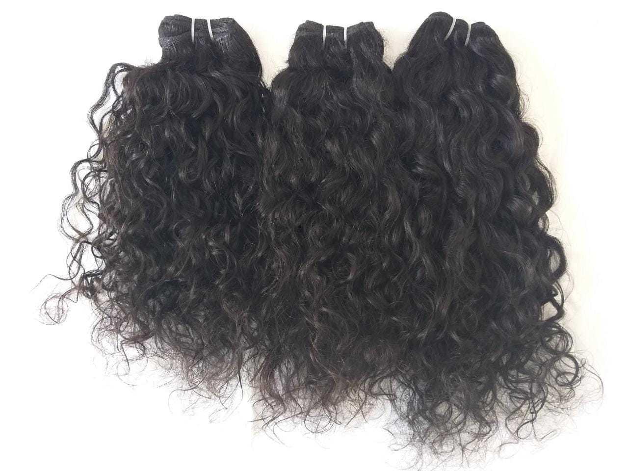 100% Raw natural curly human hair,100% human virgin hair,curly, natural color