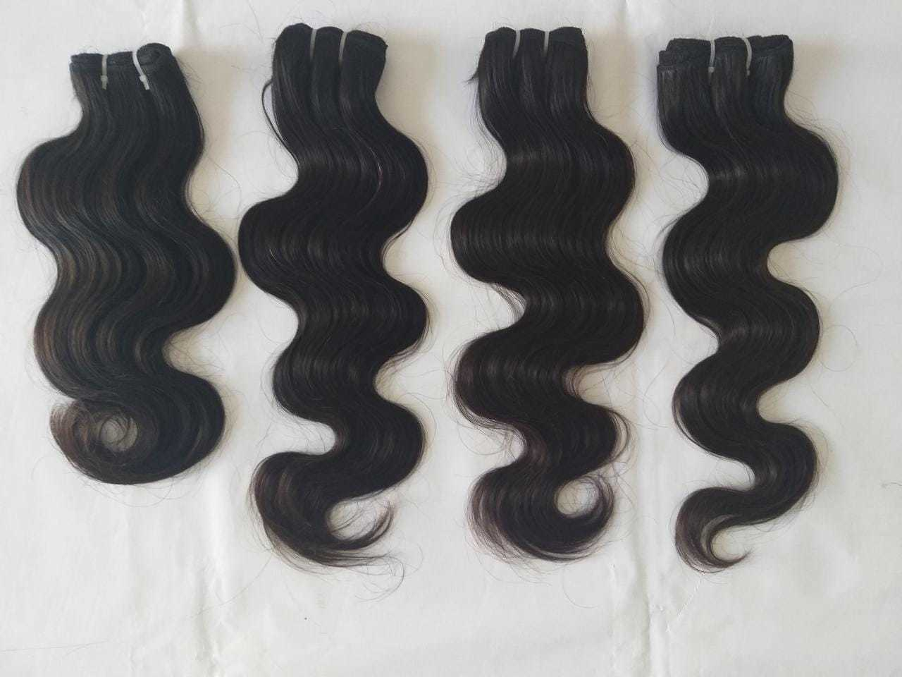 Natural body wave hair