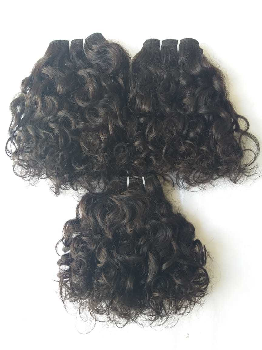 Craw Unprocessed Indian Curly Hair