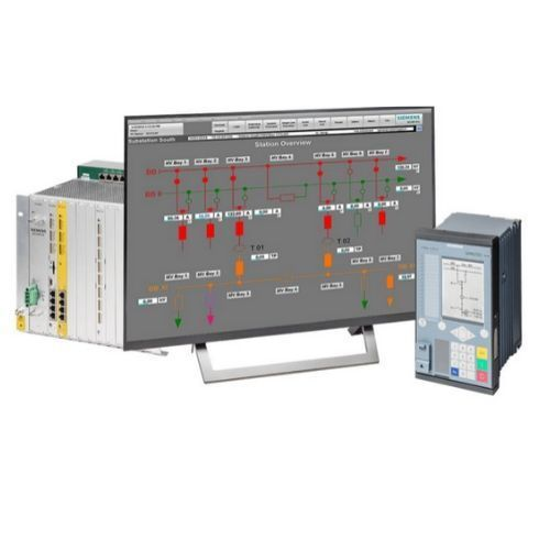 Siemens SICAM SCC Human-Machine Interface (HMI) for power automation systems