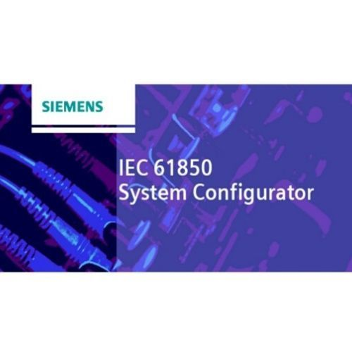 Siemens IEC 61850 System Configurator Engineering software for IEC 61850 systems