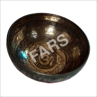 Mantra Careved Singing Bowl