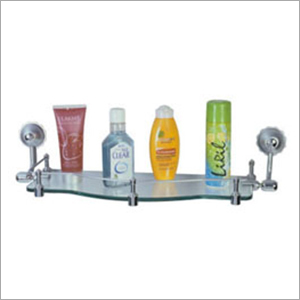 Bathroom Wall Mounted Glass Shelf