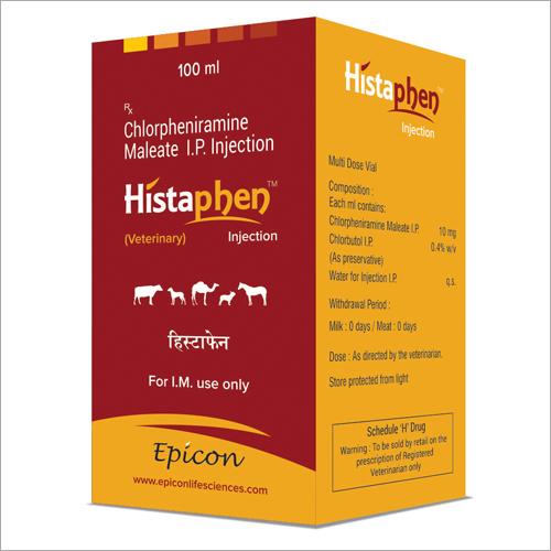 Chlorpheniramine Meleate Ip Injection Certifications: Gmp