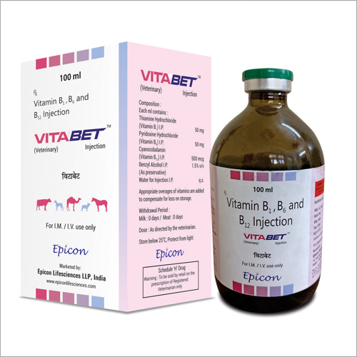 Vitamin B2 - B6 And B12 Injection