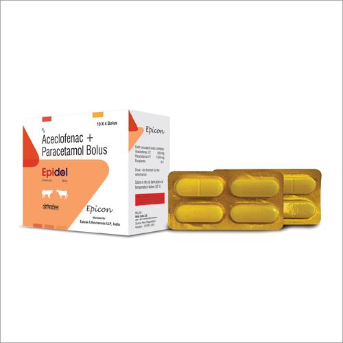 Aceclofenac And Paracetamol Bolus