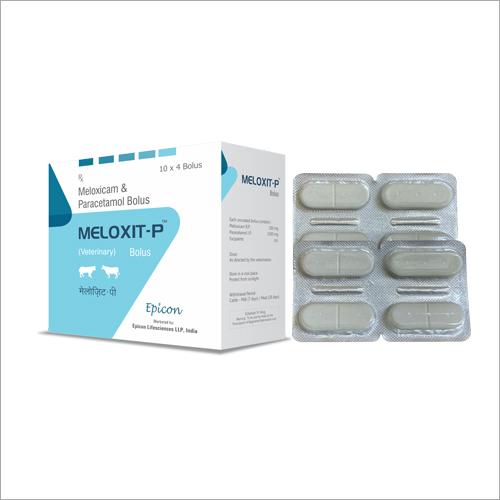 Meloxicam And Paracetamol Bolus
