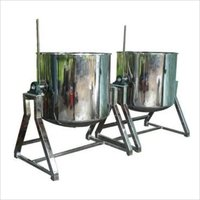 SINGLE  JACKETED VESSEL FOR RICE 30 KG