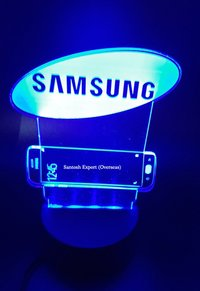 Acrylic Trophy with Light Effect