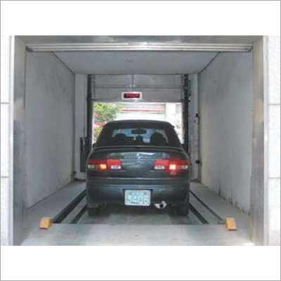 Traction Type Car Lift