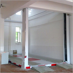 4 Pole Hydraulic Car Lift
