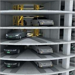 Cylindrical Multi Level Car Parking System