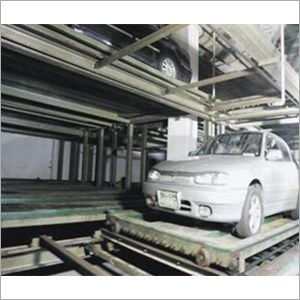 Horizontal Circulation Car Parking System With Pallet