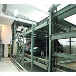 Multi-Level Circulation Car Parking System With Pallet