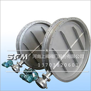 Electric Regulation Ventilation Butterfly Valve