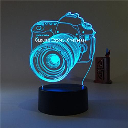Acrylic Memento with Light Effect