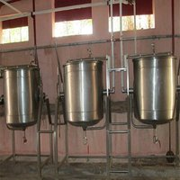 Double Jacketed Vessel For  Sambar 150 Ltr