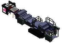 High Speed UV Spot Coating Machine (Conveyor Type)