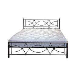 Stainless Steel Modern Double Bed
