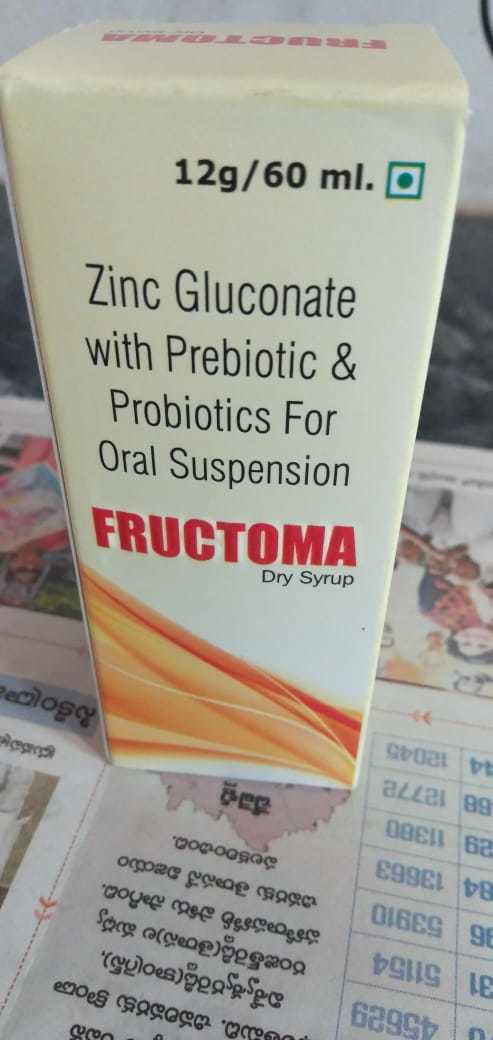 Prebiotic Zinc Gluconate Syrup
