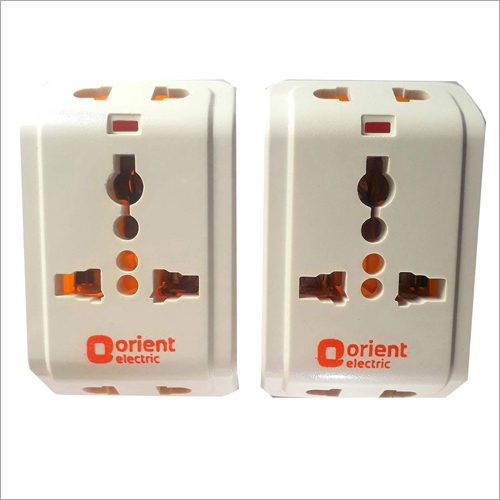 Orient Electric 3 Pin Multi Plug Travel Adapter