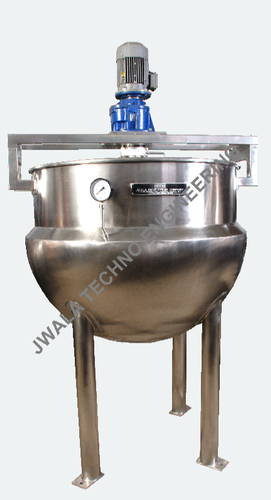 Steam Jacketed Stirrer with Stirrer