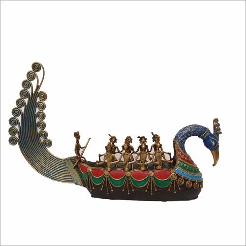Tribal Peacock Boat