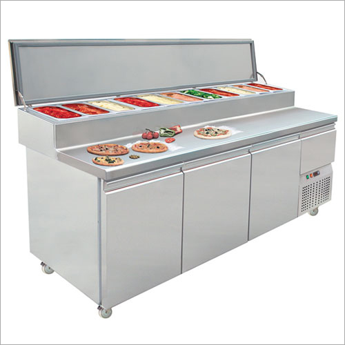 Pizza Topping Counter