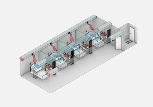 Panel Built Modular Isolation Room