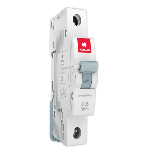 D05 Single Pole Havells Miniature Circuit Breaker