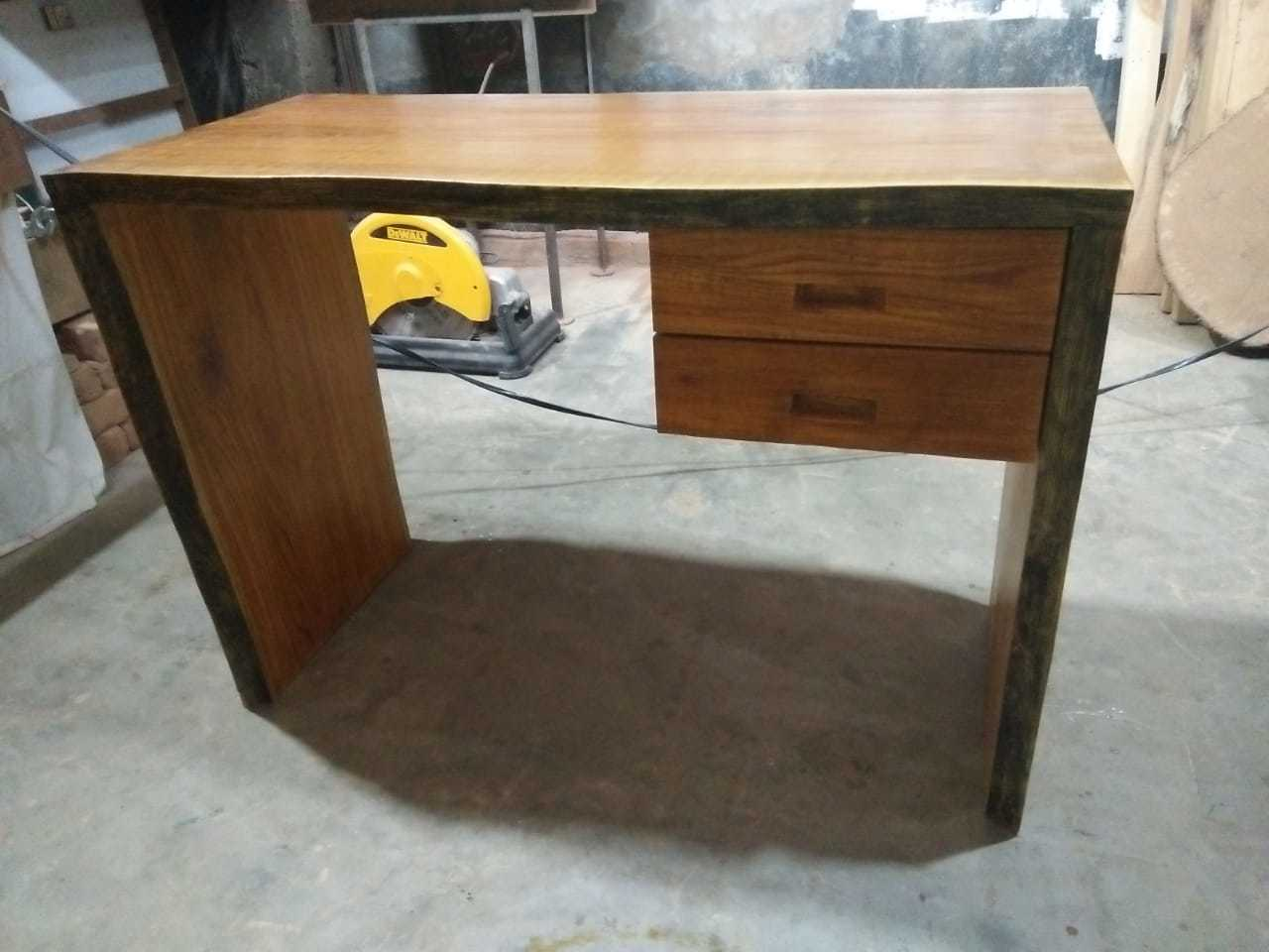 Teak Wood Study Table