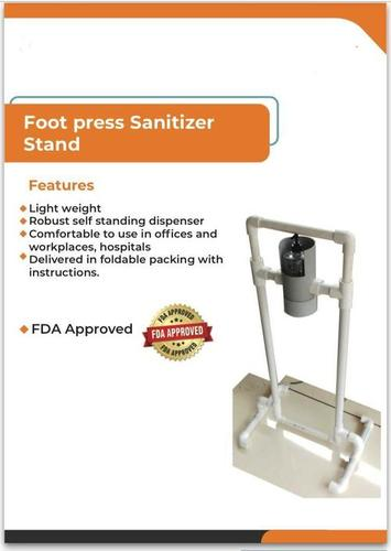 Foot Press Sanitizer Stand