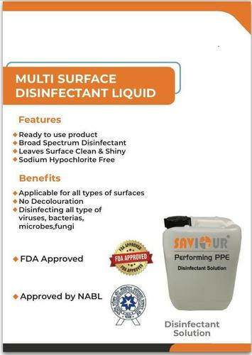 Multi Surface Disinfectant Liquid