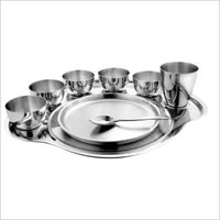 Thali Set SS 9 pcs set