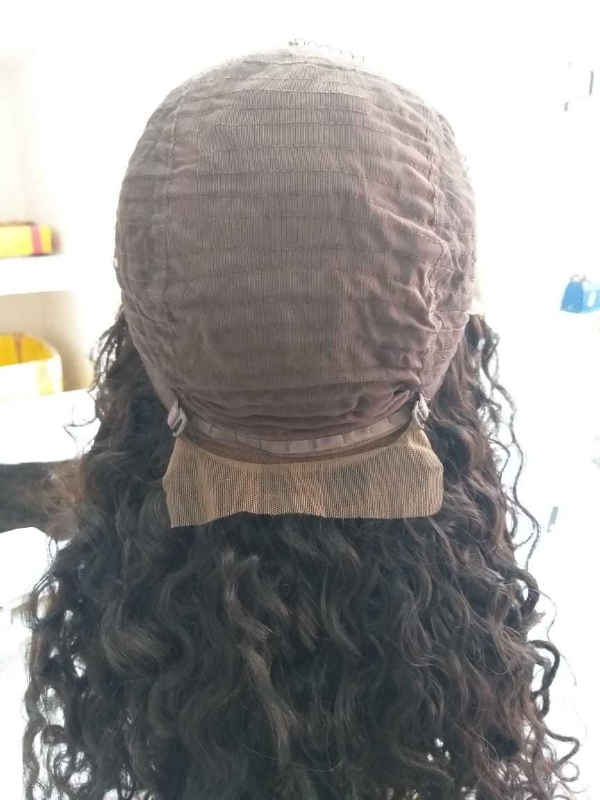 Black Deep Curly 13x4 Lace Front Wig