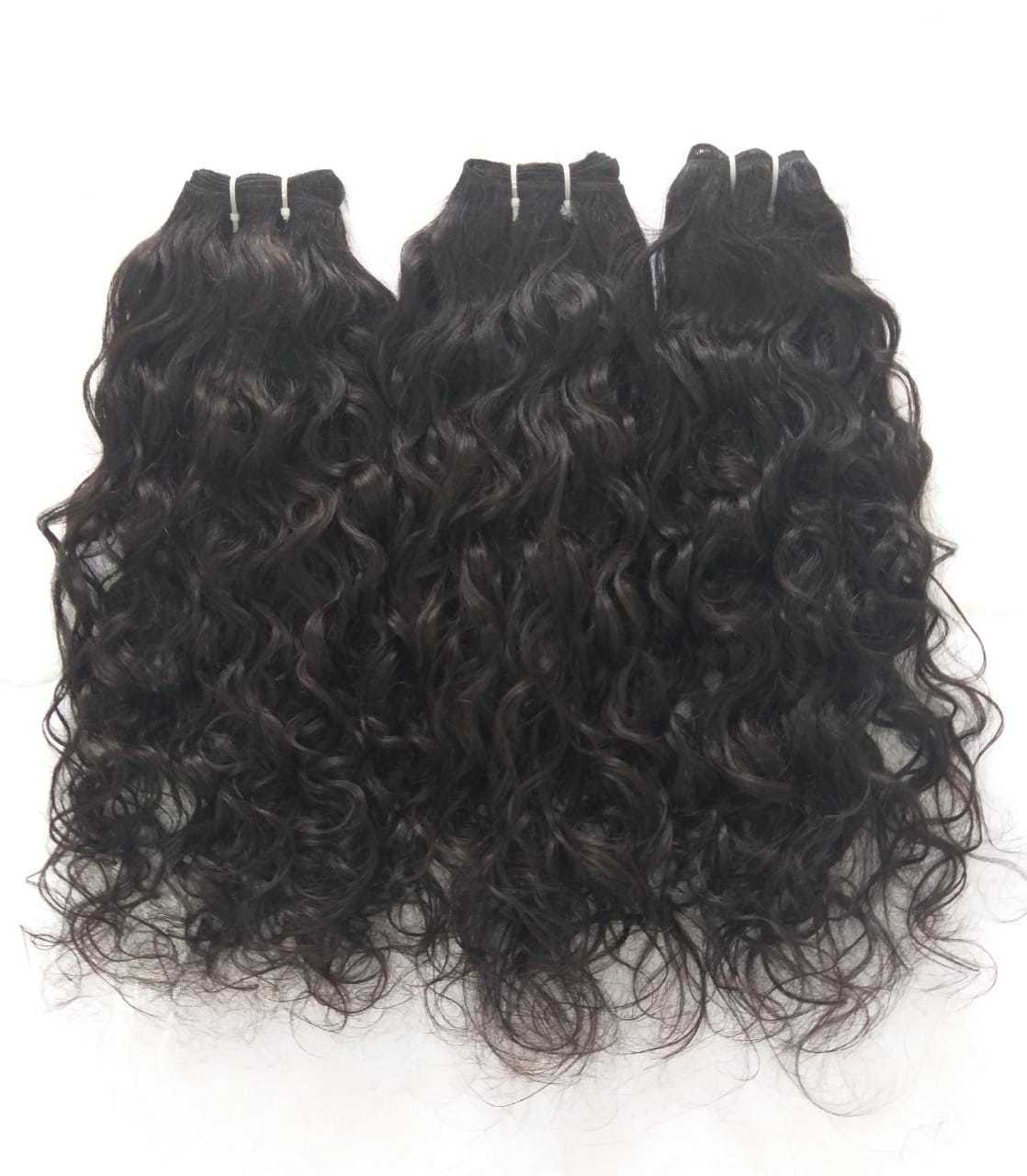 Wholesale price top quality virgin human hair ,Remy curly human hair