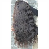Unprocessed Body wave Front lace wig