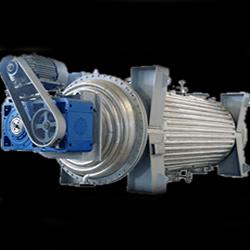 Industrial Rotary Vacuum Dryer