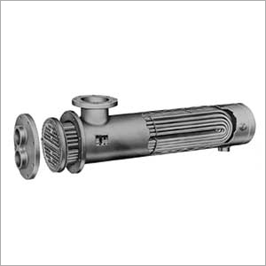 SS and MS Shell Tube Heat Exchanger
