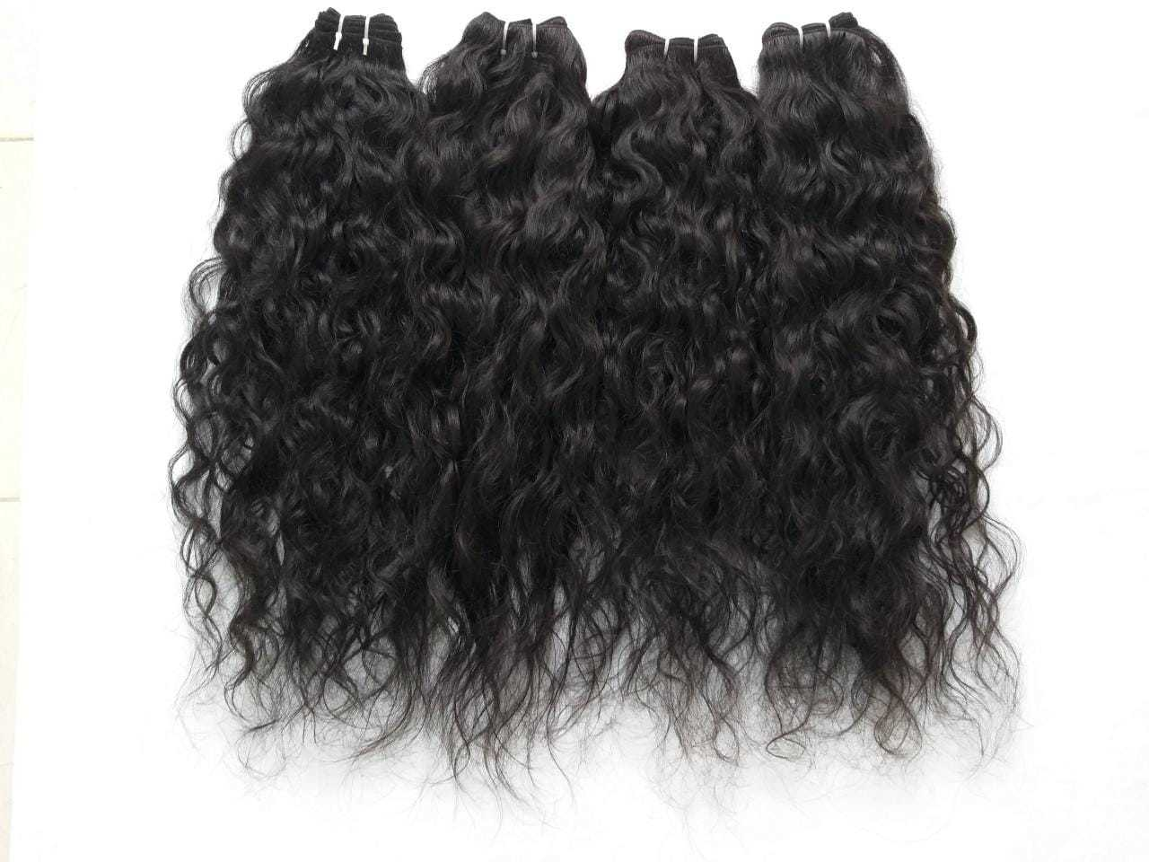 Cuticle Aligned Deep Curly Peruvian Human Hair , Remy Curly Hair