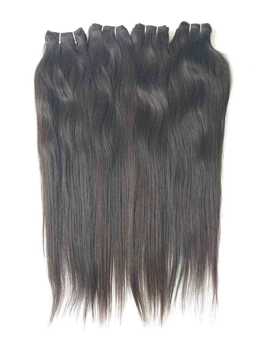 Remy Straight Human Hair, Tangle And Shedding Free