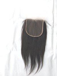 100% Virgin Human Hair Wholesale Price ,Indian Straight Hair Closure