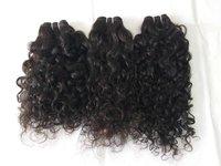 Jerry curl Peruvian virgin hair bundle 10A grade human Human Hair