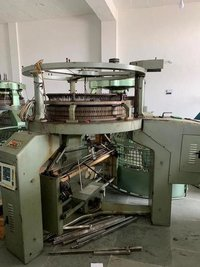 Jingbo 136 Feeder Sinker Knitting Machine