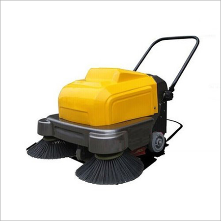 Battery Operated Manual Road Sweeper