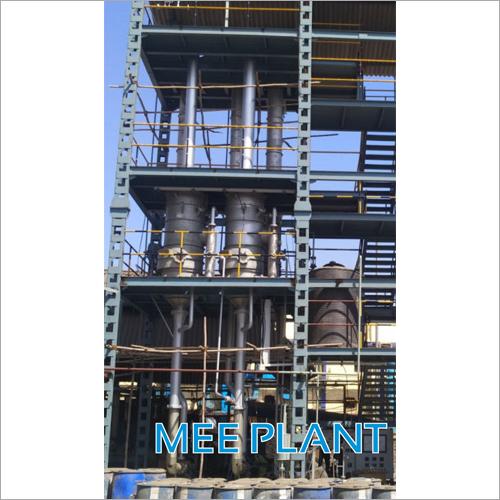 Multi Effect Evaporator Plant